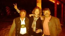 Hans, Theo, and Jurgen, at the volunteer appreciation party.